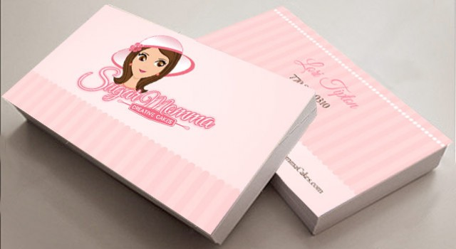 Sugar Momma Cakes business cards