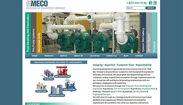 Mechanical Equipment Company web site
