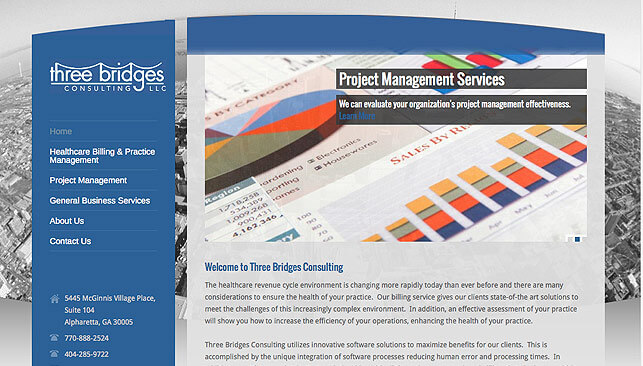 Three Bridges Consulting web site