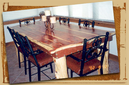 Cedar Dining Table